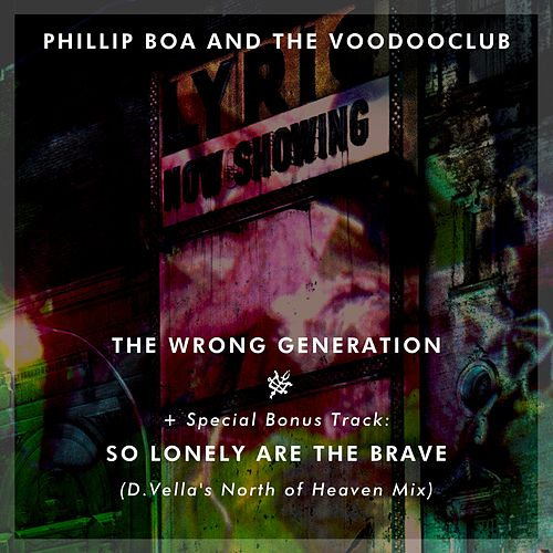 The Wrong Generation von Phillip Boa & The Voodoo Club