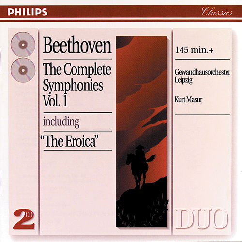 Beethoven: The Symphonies, Vol. 1 by Gewandhausorchester Leipzig
