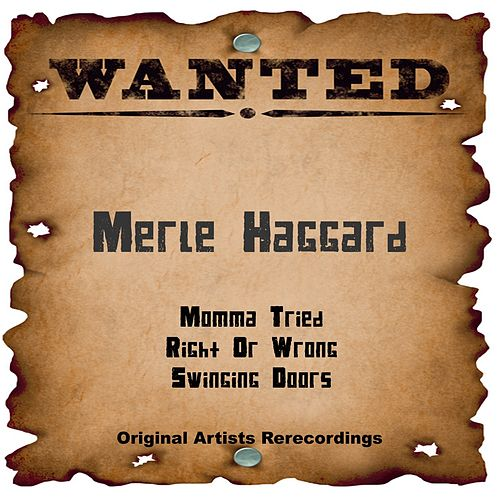 Wanted (Live) by Merle Haggard