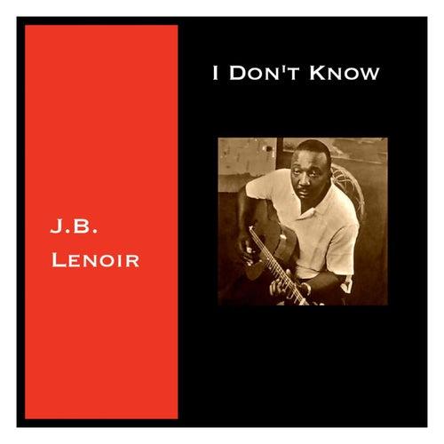 I Don't Know de J.B. Lenoir