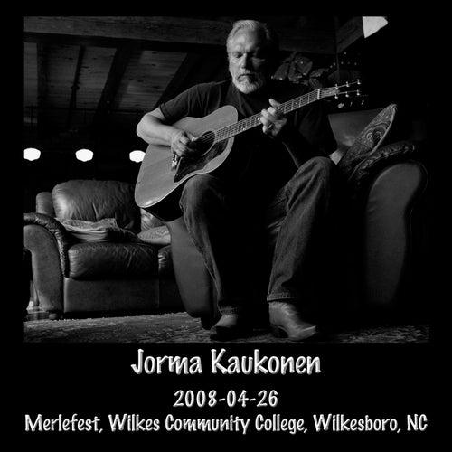 2008-04-26 Merlefest, Wilkes Community College, Wilkesboro, NC (Live) by Jorma Kaukonen