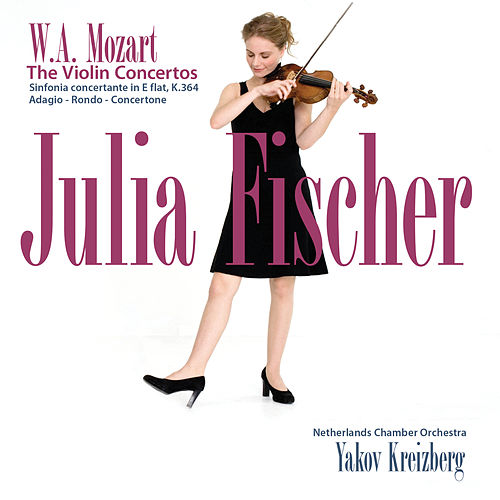 Mozart: The Violin Concertos by Julia Fischer