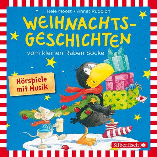 Weihnachtsgeschichten vom kleinen Raben Socke: Alles Advent!, Alles glitzert!, Alles in Eile! und Alles weg! von Annet Rudolph Nele Moost