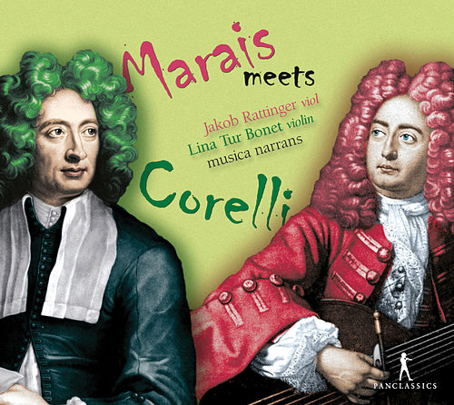 Marais Meets Corelli de Various Artists