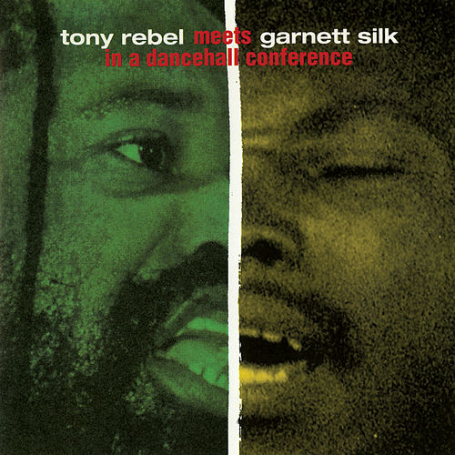 Tony Rebel Meets Garnett Silk In A Dancehall Conference by Tony Rebel