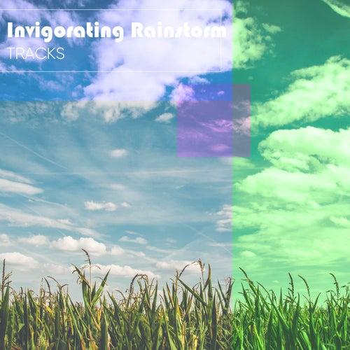 Invigorating Rainstorm Tracks by Raindrops Sleep
