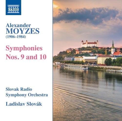 Moyzes: Symphonies Nos. 9 & 10 di Slovak Radio Symphony Orchestra