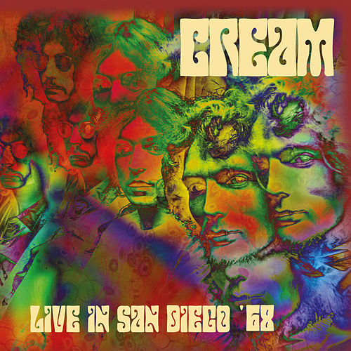 Live In San Diego '68 von Cream