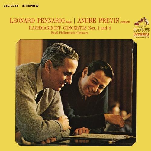 Rachmaninoff: Piano Concertos 1 & 4 de Leonard Pennario