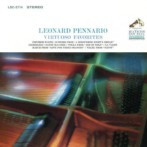Leonard Pennario Plays His Virtuoso Favorites (Remastered) de Leonard Pennario