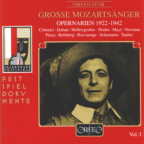 Grosse Mozartsänger (Live) de Various Artists