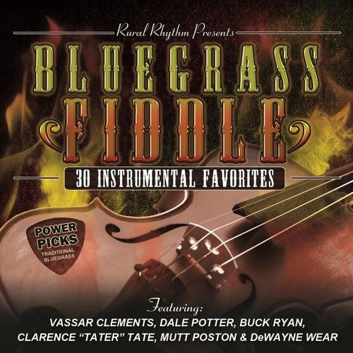 Bluegrass Fiddle Power Picks: 30 Instrumental Classics by Various Artists