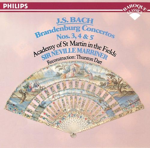 Bach, J.S.: Brandenburg Concertos Nos. 3, 4 & 5 von Academy Of St. Martin-In-The-Fields