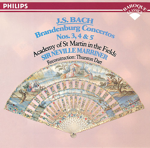 Bach, J.S.: Brandenburg Concertos Nos. 3, 4 & 5 de Academy Of St. Martin-In-The-Fields