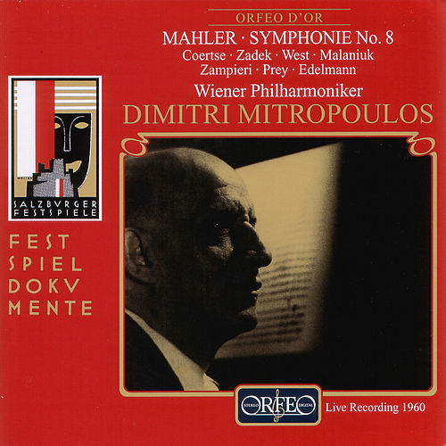 Mahler: Symphony No. 8 in E-Flat Major 'Symphony of a Thousand' (Live) by Various Artists