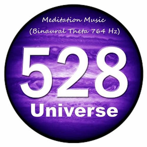 Meditation Music - Binaural Theta 764 Hz by 528Universe