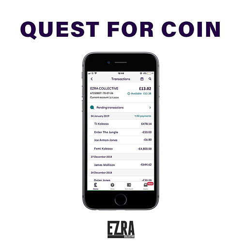 Quest for Coin von Ezra Collective