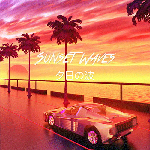 Sunset Waves by Mr. Strange