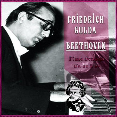 Friedrich Gulda / Beethoven 'Piano Sonatas No. 28 & 29' by Friedrich Gulda