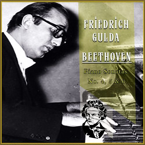 Friedrich Gulda / Beethoven 'Piano Sonatas No. 4, 5 & 6' by Friedrich Gulda