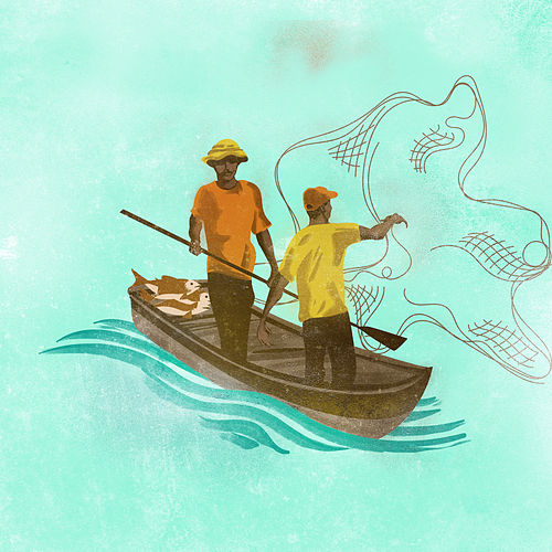 Fishaman (feat. Elkin Robinson) de Juan Pablo Vega
