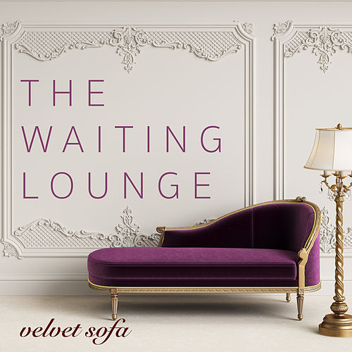 The Waiting Lounge: Velvet Sofa von Various Artists