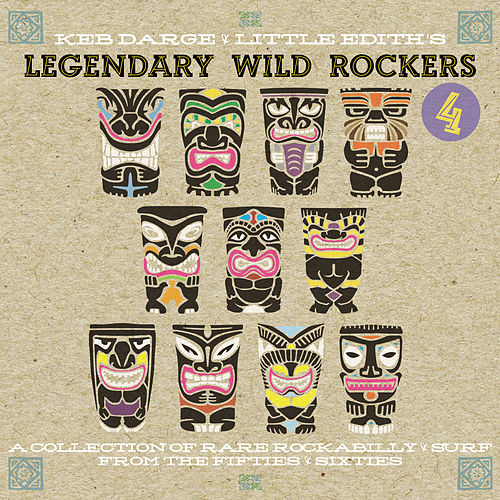 Keb Darge & Little Edith's Legendary Wild Rockers 4 de Various Artists
