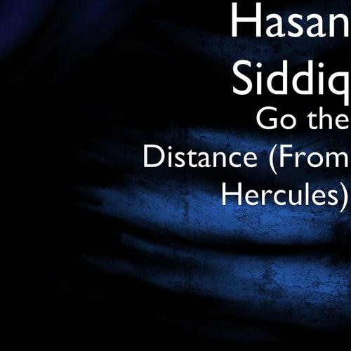 Go the Distance (From Hercules) von Hasan Siddiq
