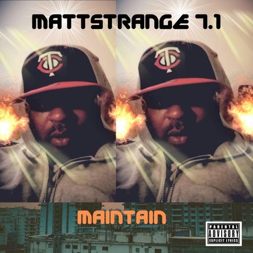 How Do I Maintain von MaTT STRANGE 7.1