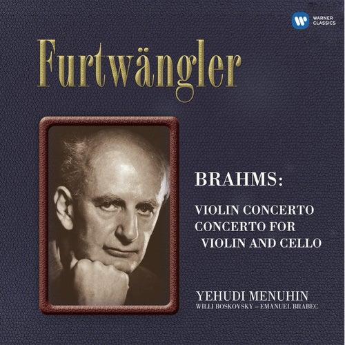 Brahms: Violin Concerto - Double Concerto by Yehudi Menuhin
