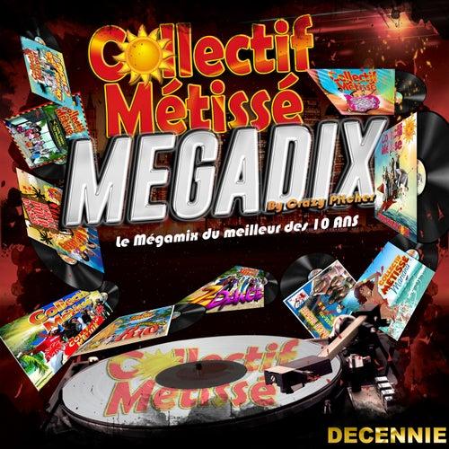 Megamix Megadix (Le mégamix du meilleur des 10 ans) de Collectif Métissé