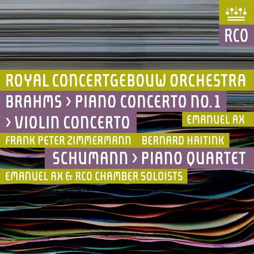 Brahms: Violin Concerto & Piano Concerto No. 1 - Schumann: Piano Quartet (Live) by Royal Concertgebouw Orchestra