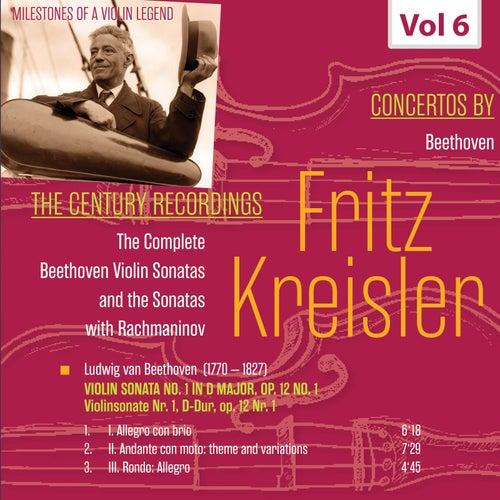 Milestones of a Violin Legend: Fritz Kreisler, Vol. 6 de Fritz Kreisler