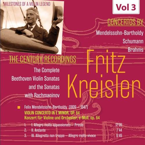 Milestones of a Violin Legend: Fritz Kreisler, Vol. 3 von Fritz Kreisler