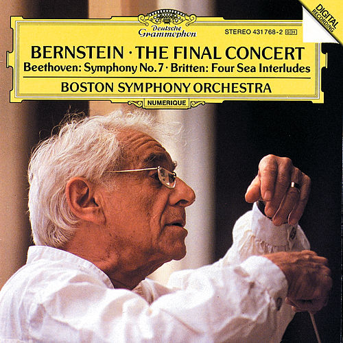 Bernstein - The Final Concert von Boston Symphony Orchestra
