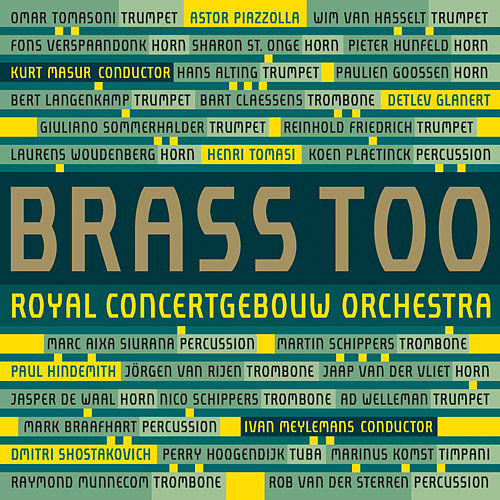 Brass Too (Live) de Royal Concertgebouw Orchestra
