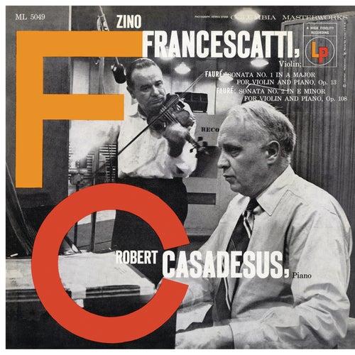 Fauré: Violin Sonatas Nos. 1 & 2 de Robert Casadesus