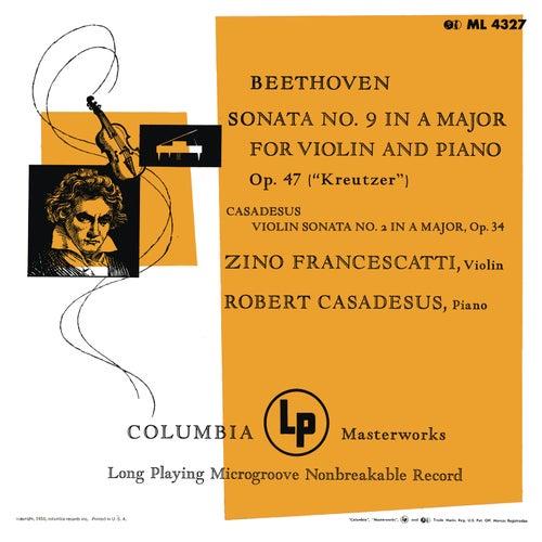 Beethoven & Casadesus: Violin Sonatas (Remastered) de Zino Francescatti