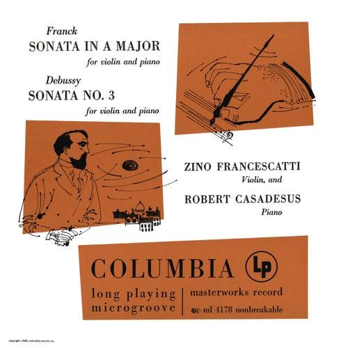 Franck & Debussy: Violin Sonatas de Zino Francescatti
