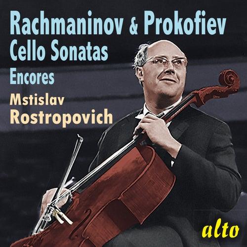 Rachmaninov & Prokofiev Cello Sonatas de Mstislav Rostropovich