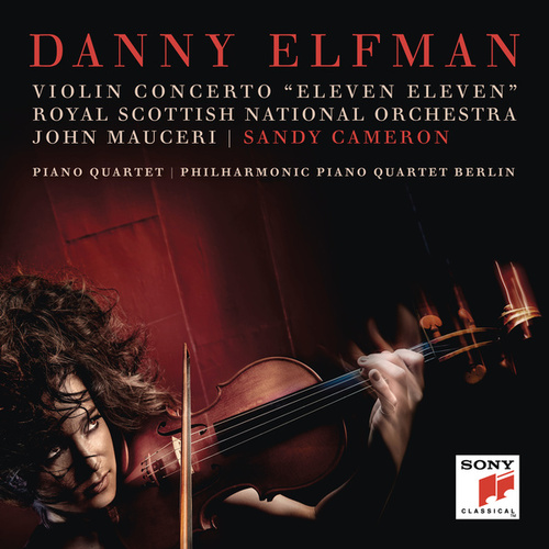 Violin Concerto 'Eleven Eleven' and Piano Quartet by Danny Elfman