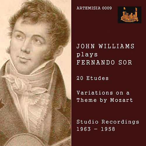 Sor: 20 Etudes & Variations on Theme by Mozart by John Christopher Williams