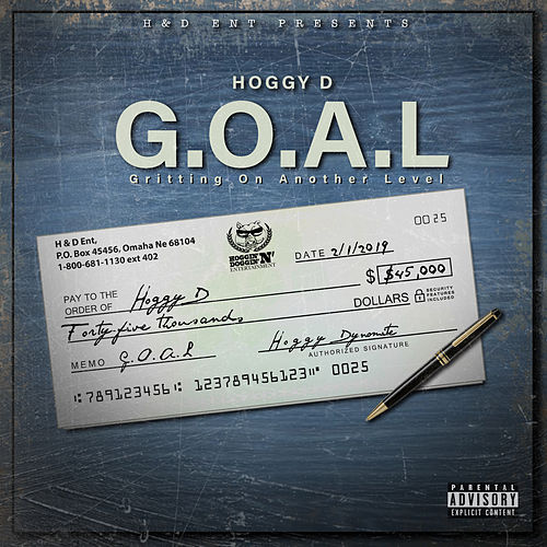 G.O.A.L (Gritting On Another Level) von Hoggy D