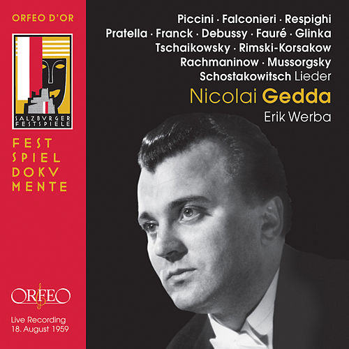 Nicolai Gedda (Live) by Nicolai Gedda