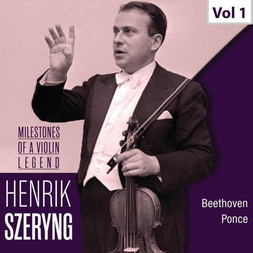 Milestones of a Violin Legend: Henryk Szeryng, Vol. 1 (1951, 1959) von Henryk Szeryng