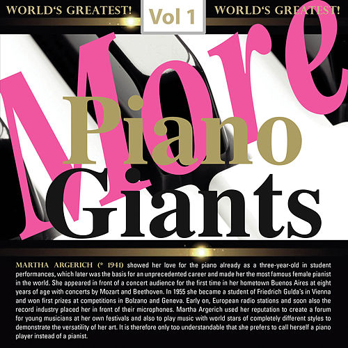 More Piano Giants: Martha Argerich, Vol. 1 von Martha Argerich