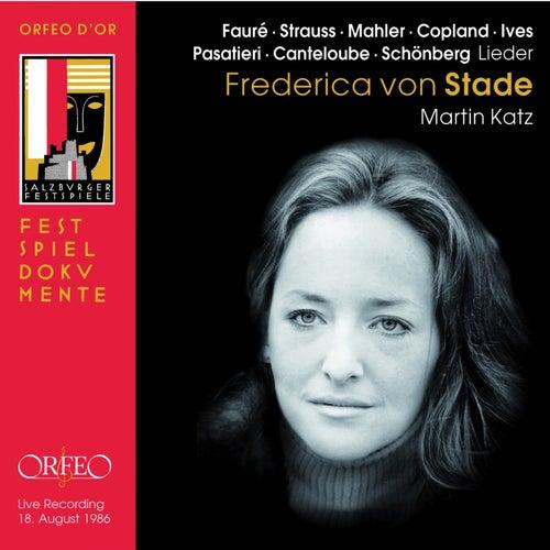 Lieder (Live) de Frederica Von Stade