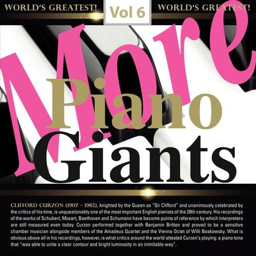 More Piano Giants: Clifford Curzon, Vol. 6 de Clifford Curzon