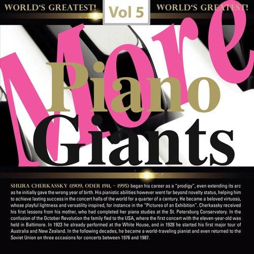 More Piano Giants: Shura Cherkassky, Vol. 5 (Live) by Shura Cherkassky