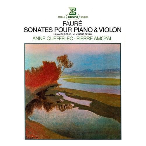 Fauré: Violin Sonatas Nos 1 & 2 by Anne Queffélec